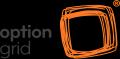 Option grid logo black